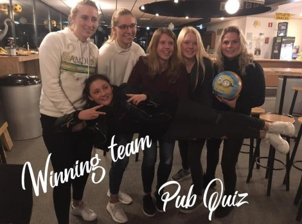 winning team pub quiz