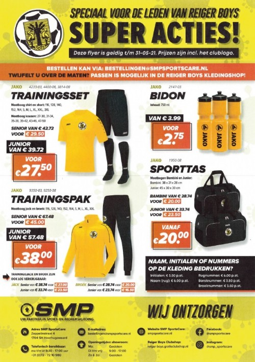 super actie april 21